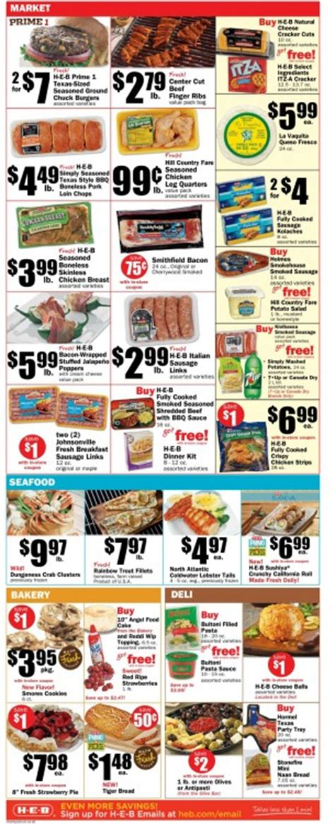 heb specials heb weekly ads april 2017 from today to 4 11 2017 weekly ads
