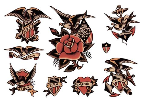 jerry sailor tattoo designs sailor jerry flash sheet t shirt design vulture graffix