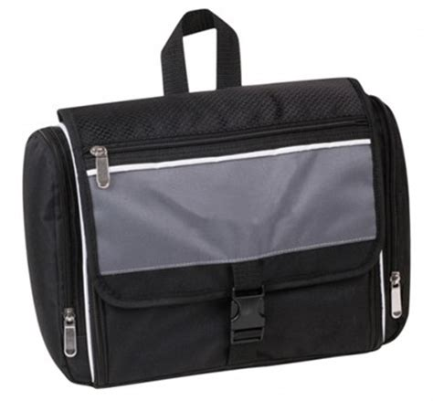 Executive Giveaways - executive toiletry baggage are a great executive giveaway item with t
