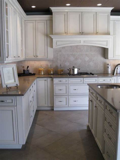 antique grey kitchen cabinets antique white with pewter glaze for the home pinterest