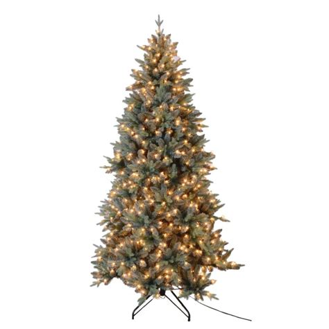 7 5 ft tree with 1000 lights 7 5 ft blue spruce tree with 650 ul lights 15920 the