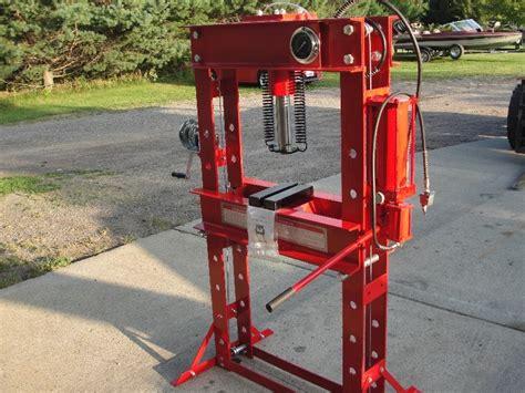 hydraulic  ton shop press wheels  deals september   bid