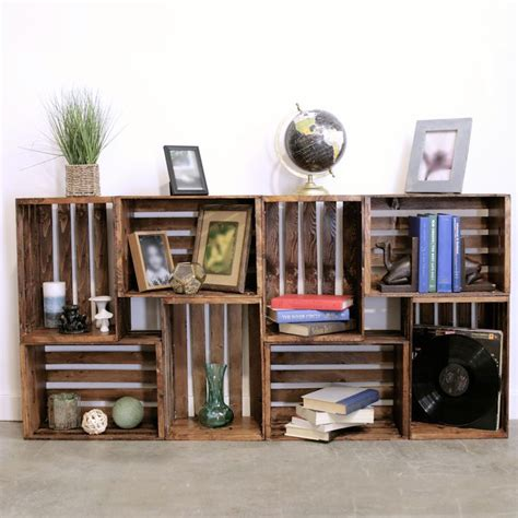 25 best ideas about wooden crates on