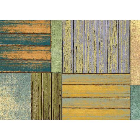faux wood rug faux floor mat patchwork wood in patterned rugs
