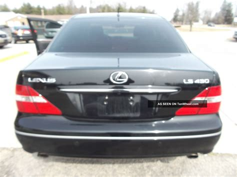 lexus coupe 2004 2004 lexus ls430 base sedan 4 door 4 3l