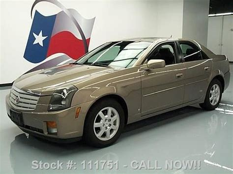 Cadillac Ctr by Find Used 2007 Cadillac Cts Sedan Sunroof Leather Cruise