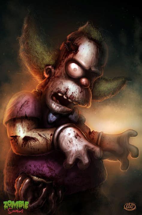 imagenes de zombies reales hd fan art friday dan osborne s zombie simpsons strange