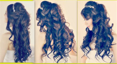 prom hairstyles half up half down youtube collections