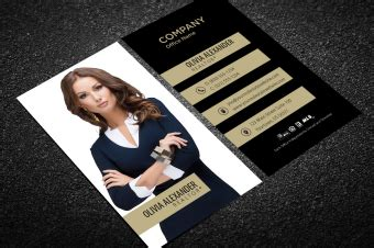 Business Card Template Using Century Font by Century21 Business Cards Free Shipping Design