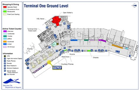 slc airport map find us at the salt lake airport express shuttle