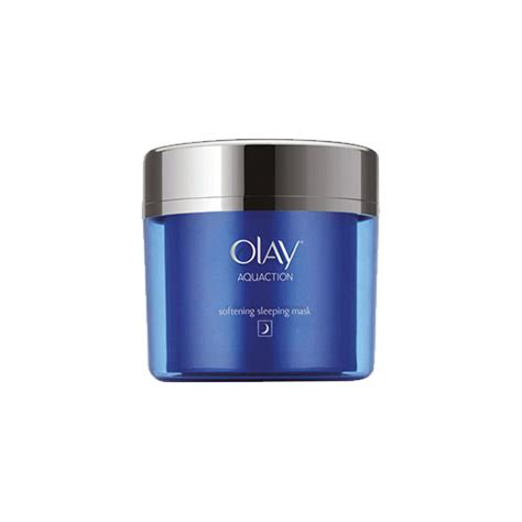 Olay Aquaction olay aquaction softening sleeping mask lasting hydration gel