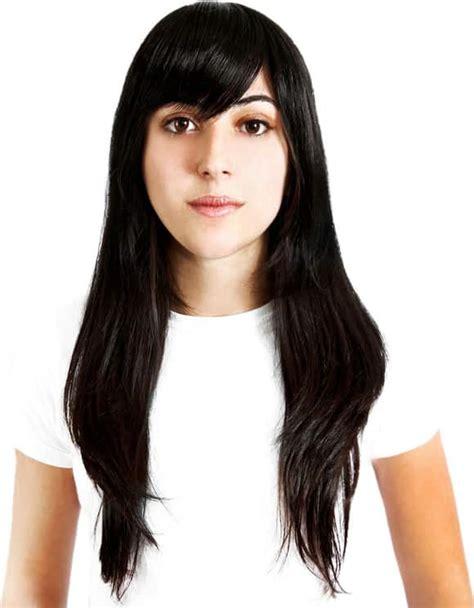 apliques hairdo hairdo franja preto beleza na web