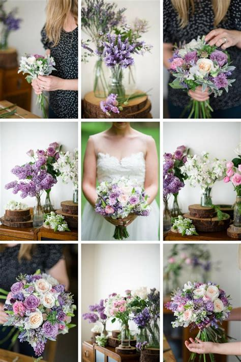 5 of the prettiest spring wedding bouquets ever a romantic spring bridal bouquet in purple pink chic