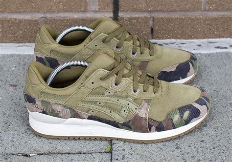 Sepatu Sneakers Asics Gell Lyte Iii Mt Navy Sol Gum For asics gel lyte iii olive camo sneaker bar detroit
