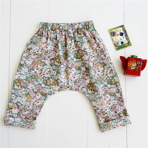 free pattern baby harem pants baby toddler harem pants sewing pattern wiksten