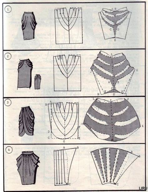 draped skirt pattern pattern skirts pattern cutting pinterest pattern