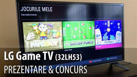 lg game tv review concurs televizor hd cu jocuri