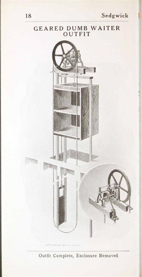 Hand powered elevators and dumbwaiters