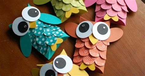 kerrys paper crafts adorable owls from kerry s paper crafts creative craft