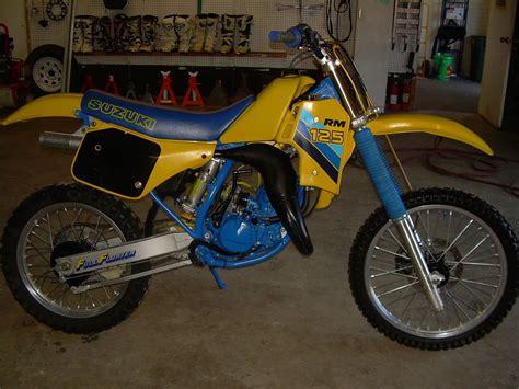 1986 Suzuki Rm 125 Suzuki Rm 125 1986 Images Frompo