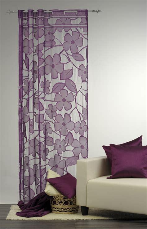 Vorhang Lila by Dekoschal Fae Gardine Vorhang Blume Lila 140x235cm Ebay