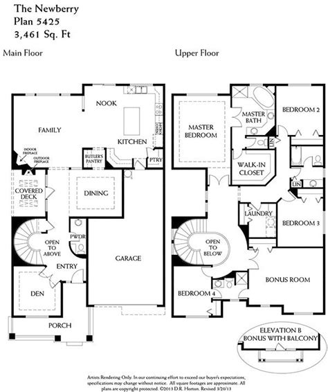 unique floor plan with central turret 23183jd 2nd floorplan for the home pinterest home