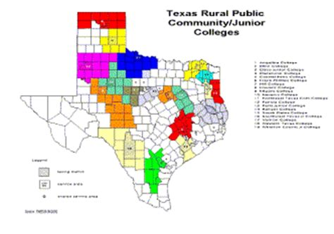 texas colleges map colleges in texas map