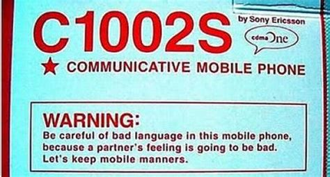 12 Of The Dumbest Warning Labels by Stupid Warning Labels On Products