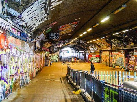 banksy locations london  hidden alternate tunnel