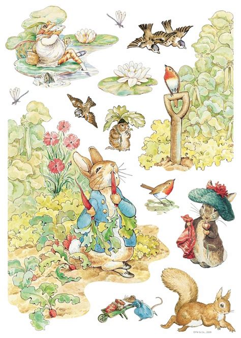 beatrix potter wall stickers beatrix potter wall decals rosenberryrooms