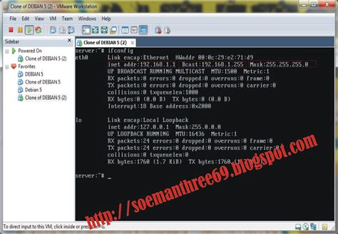 tutorial konfigurasi dns server di debian tutorial konfigurasi dhcp server debian 5 di vmware all