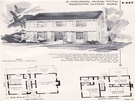 Garrison House Plans Garrison Colonial Floor Plans Garrison Colonial National Plan Service Midcentury House Plans