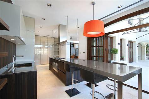 kitchen breakfast table can siurell villa mallorca by