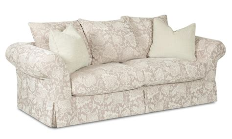klaussner charleston sofa klaussner charleston sofa with scatterback pillows and