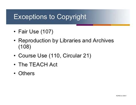 copyright act section 106 fair use open source software