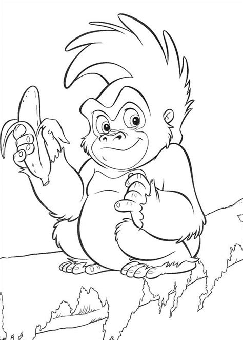 tarzan coloring pages best coloring pages for kids