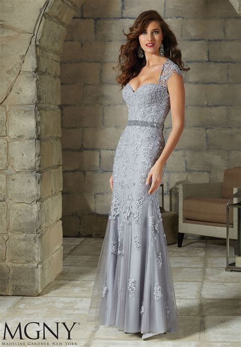 appliques for dresses lace appliques on net gown style 71211 morilee