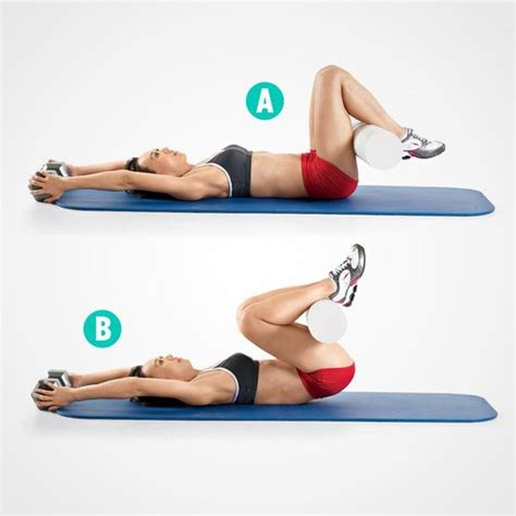 tone your abs on a mat 5 better than crunches abs