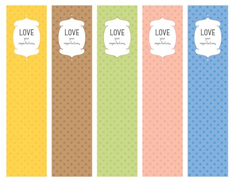 7 best images of bookmark designs free printable copies