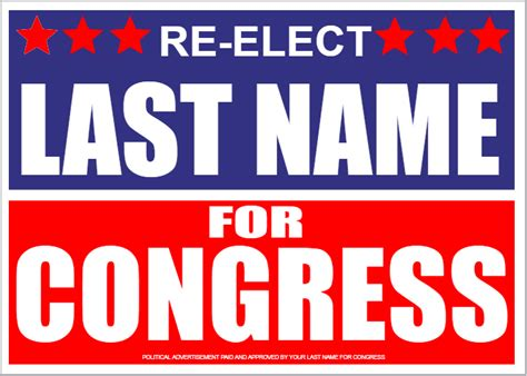 political signs templates political signs template 16