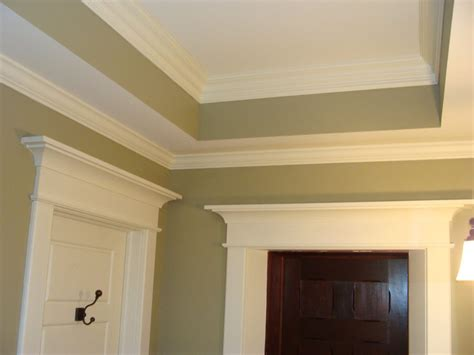 bathroom trim molding craftsman style molding bathroom traditional with crown