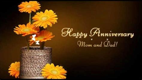 Wedding Anniversary Wishes Quotes For Parents by Happy Anniversary And Parents Anniversary 2018