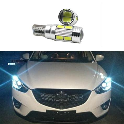 led len auto 2 x t10 led w5w car led auto l 12v light bulbs with