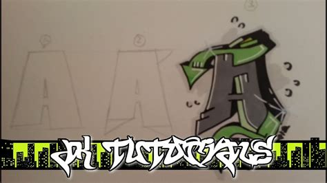 wildstyle graffiti tutorial step  step letter  youtube