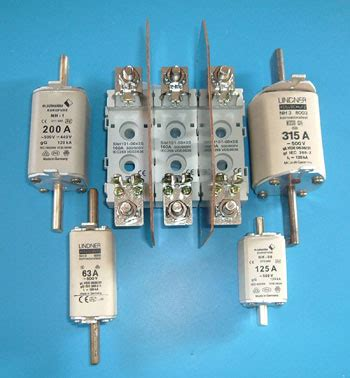 capacitor bank blown fuse din fuses and fuse bases type gl and ar superfast for protection of thyristors