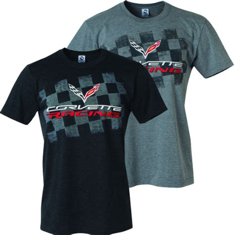 c7 corvette apparel c7 corvette 2014 corvette racing t shirt black
