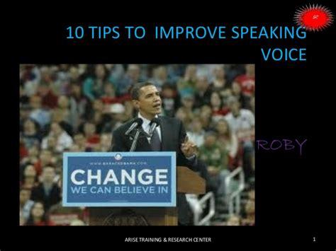 10 tips speaking voice