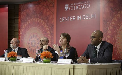 Chris Rowney Mba Uchicago by Uchicago Celebrates Opening Of Center In Delhi The