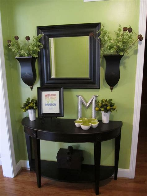 entry table ideas decorations  designs