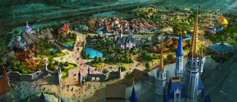 disney world welcomes new fantasyland attractions this fantasyland expansion concept pt 1 lebeau s le